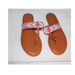 American Eagles Outfitters Aztec Print Flats